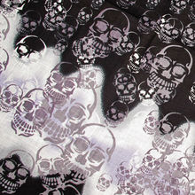 12pcs/lot Pirate Bandana Skull And Crossbones Head Scarf Black Fancy Dress Accessories