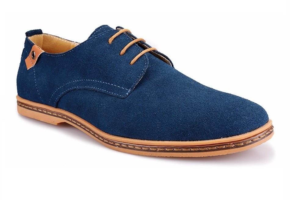 Classic Men Flats Gentleman Oxford Genuine Leather Dress Shoes Men Flat Shoes Luxury Casual Shoes Size 39-47 3