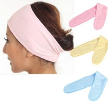 1Pcs NEW Soft Adjustable Women Elastic Wash Face Makeup SPA Stretch Hair Band Headband for Girls