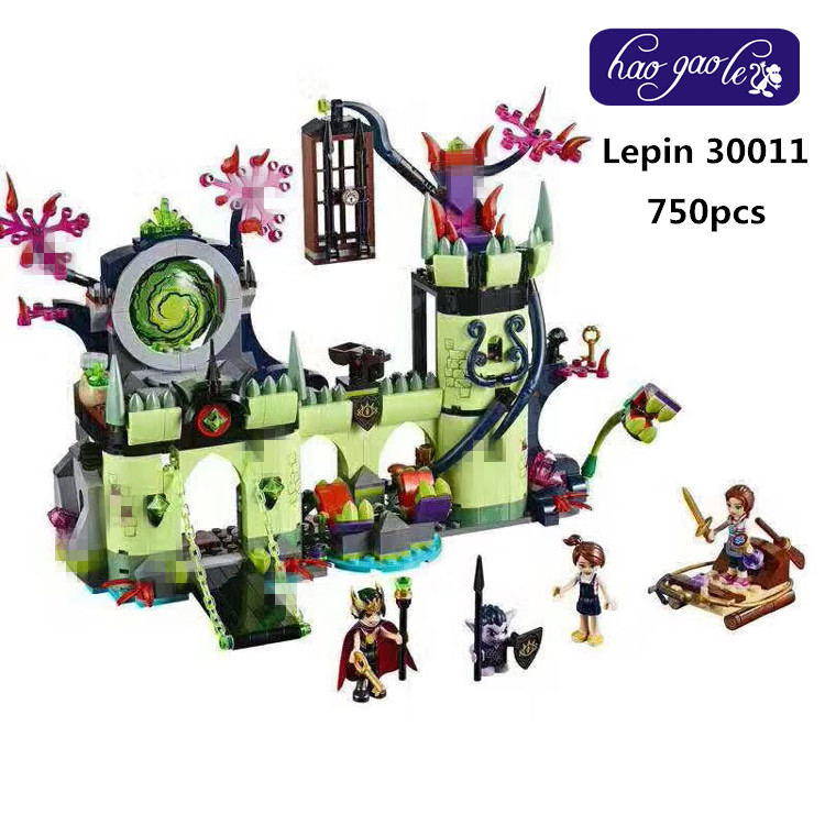 Lepin 30011 750pcs Elven kings Castle escape plan Building Blocks Bricks baby Toys girls children gifts brinquedos 41188<br>