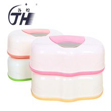 New Wipes Box Plastic Wet Tissue Room Automatic Box Case Pop-up Design Tissue Case Baby Wipes Storage Organizer Box(China)