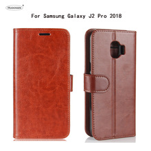 Buy HUDOSSEN Samsung Galaxy J2 Pro 2008 J250F Case Luxury Flip Leather Back Cover Phone Accessories Bags Coque J2 Pro 2018 for $5.27 in AliExpress store