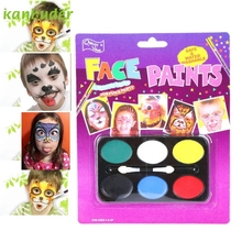 KANBUDER Beauty Fashion Children Festival Face Painting Craft Kit For Halloween Carnival Party AP30