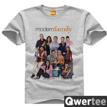 Modern Family ABC Print Original Design Fashion Casual Cotton Tshirt T shirt TEE Free Shipping