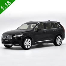 1/18 Volvo XC90 2015 SUV Alloy Diecast Metal Car Model Toys For Kids Christmas Gifts Toys Collection Free Shipping(China)