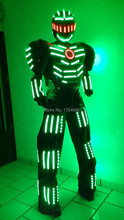 event and party supply  light up suits  led robot  LED Clothing LED Robot suits Luminous costume