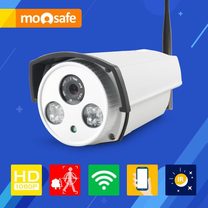 Mosafe 2.0MP WIFI Camera 2 pcs Array Leds IR night vision Onvif motion detection recording remoter control Surveillance Cameras<br><br>Aliexpress