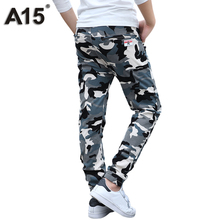 A15 Camouflage Pants Kids Boys Pants Cotton Long Teenage Boys Clothing Camo Pants Kids Trousers 2017 Big Size 8 10 12 14 16 Year(China)