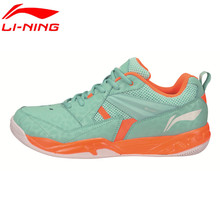 Li-Ning Men's Badminton Shoes 2017 Newest Breathable Lining Athletic Sneaker Anti-Slippery Sports Shoe Li Ning AYTM079 L716(China)