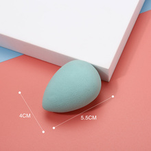 Miss Gorgeous 1pcs Professional Makeup Sponge Flawless Smooth Cosmetics Green Face Poweder Puff Foundation Sponge For Make Up