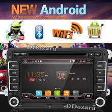 android 6.0 Double 2 Din Car Stereo DVD Player GPS Bluetooth For Volkswagen VW PASSAT TIGUAN Bora GOLF 5 6 4 Fabia Superb GPS(China)