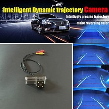 Auto Parking Assistance Intelligent Reversing Trajectory Dynamic Rear View Camera For Toyota Land Cruiser LC 100 LC100 1998~2007