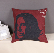 Alan Sidney Patrick Rickman Severus Snape Emoji Body Neck Pillow Massage Euro Cover Travel Magic Decorative Pillows(China)