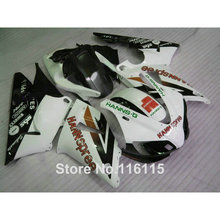 MOTOMARTS Full injection high quality plastic fairings set for YAMAHA R1 1998 1999 model black white YZF R1 98 99 fairing kit 24(China)