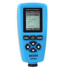 Digital Coating Thickness Gauge Meter thickness gauges USB Auto F/N Probe Tester paint gauge thickness tester peinture