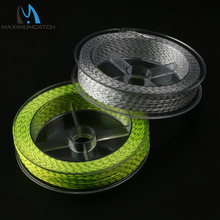 Maximumcatch 2 Pcs 30LB Backing Fly Fishing Line 100Yards Double Colors Braided Backing Line Backing Fly Line
