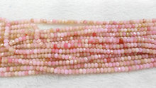 pink opal gemstone crystal lapis sunstone labaradorite aquamarine beryl ruby beads rondelle abacus faceted necklace loose beads