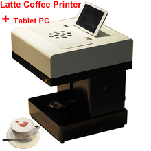 Hot Coffee Printer Full Automatic Latte Coffee Printer with 8 inch Tablet PC Coffee and Food Printer Inkjet Printer Selfie(China)