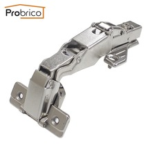 Probrico 1 PCS Soft Close Kitchen Cabinet Corner Folded Hinge 165 Degree CHWH04HA Concealed Combination Cupboard Door Hinge