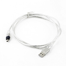 1Pc iEEE 1394 4 Pin for iLink Adapter Cable 5ft USB To Firewire Hot Worldwide Drop Shipping(China)