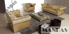 Modern industrial design, multi-function leather sofa, factory direct sales/chesterfield sofa 1+2+3 seater