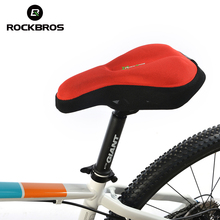 RockBros Bike Bicycle Cycling Cycle Seat Post Cover Sponge Pad Ventilate Soft Bike Cushion Saddle Cover MTB Bike Bicycle Part(China)
