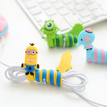 Cartoon Cord Winder Reversal Korea fashion creative Lovely Classic adorable long strip winding thread tool device silicone