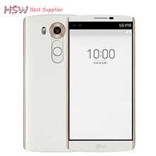 2016 Hot sale Original LG V10 5.7'' 4K 4GB RAM 64GB ROM Smart Phone Octa Core Android 5.1 LTE 4G Cellphone Free shipping