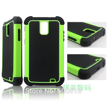 Football Grain Shockproof Plastic Hard Case For Samsung Galaxy S2 II Skyrocket i727 Hybrid Back Cover(China)