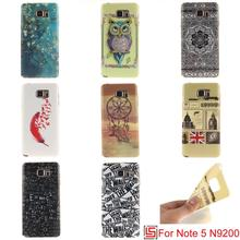 Cheap Ultra Thin TPU Silicone Soft Phone Mobile Case coque capa Cover Cove Bag For Samsung Galaxy Note 5 N920I Owl Sex Girl