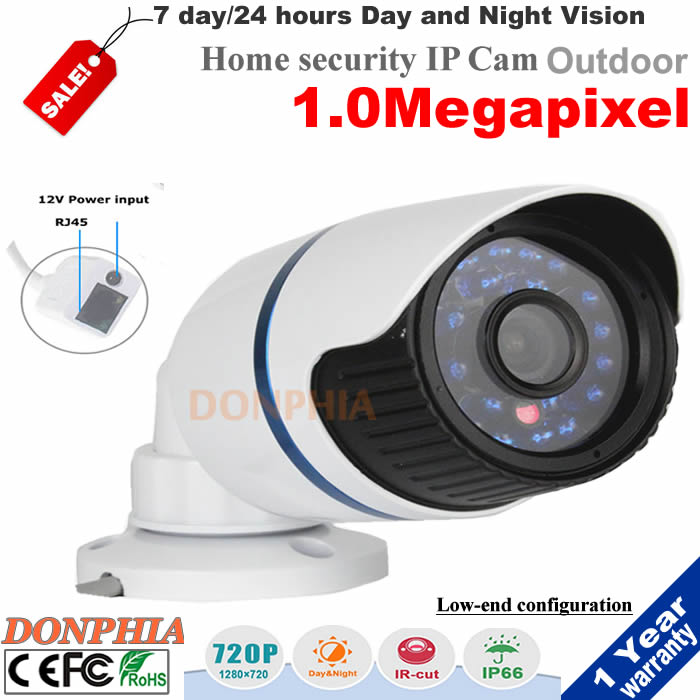 Promotion Outdoor Security CCTV Camera with 3.6mm Wide Angle Lens 24 LEDs IRCUT Night Vision Bullet Camera PC Phone remote view<br><br>Aliexpress
