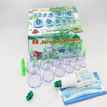 12 pcs/ Set Chinese Health care Medical Vacuum Body Cupping Set Portable Massage Therapy Kit body relaxation healthy Massage set