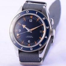 71bc64a7e3a 41mm debert mostrador azul estéril miyota vidro de safira mens Relógio  Automático D09