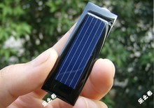 10pcs Mini Solar Panel New 0.5V 100mA Solar Cells Photovoltaic panels Module Sun Power battery charger DIY 53*18*2.5mm(China)