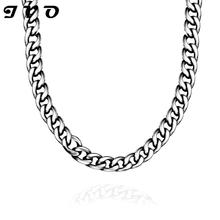 2016 linked chain men necklace high quality hot sale China supplier latest design 316L stainless steel Necklace free shipping