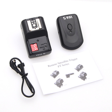 16 Channels Wireless Remote Speedlight Flash Trigger Flasher Synchronizer for Canon Nikon Pentax Olympus DSLR Camera(China)