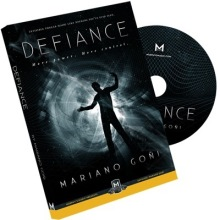 Defiance by Mariano Goni (DVD + Gimmick) / Close-up stage street bar comedy magic(China)