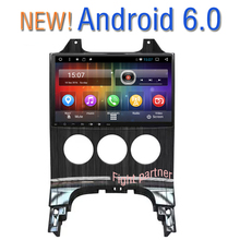 Free Shipping Big screen Android 6.0 Car dvd for Peugeot 3008 5008 Manual transmission GPS Navigation