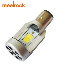 Meetrock 20W motorcycle headlight ba20d LED for ktm headlight cafe racer suzuki kawasaki z750 frecce moto motorcycle accessories(China)