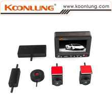 K1S Dashboard Camera Car DVR Dual 1080P Lens, Mini DVR Unit with Ambarella Chipset External GPS 2.7'' Super HD Screen with Clip(China)