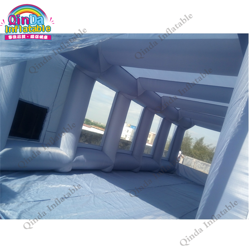 inflatable spray booth paint tent15