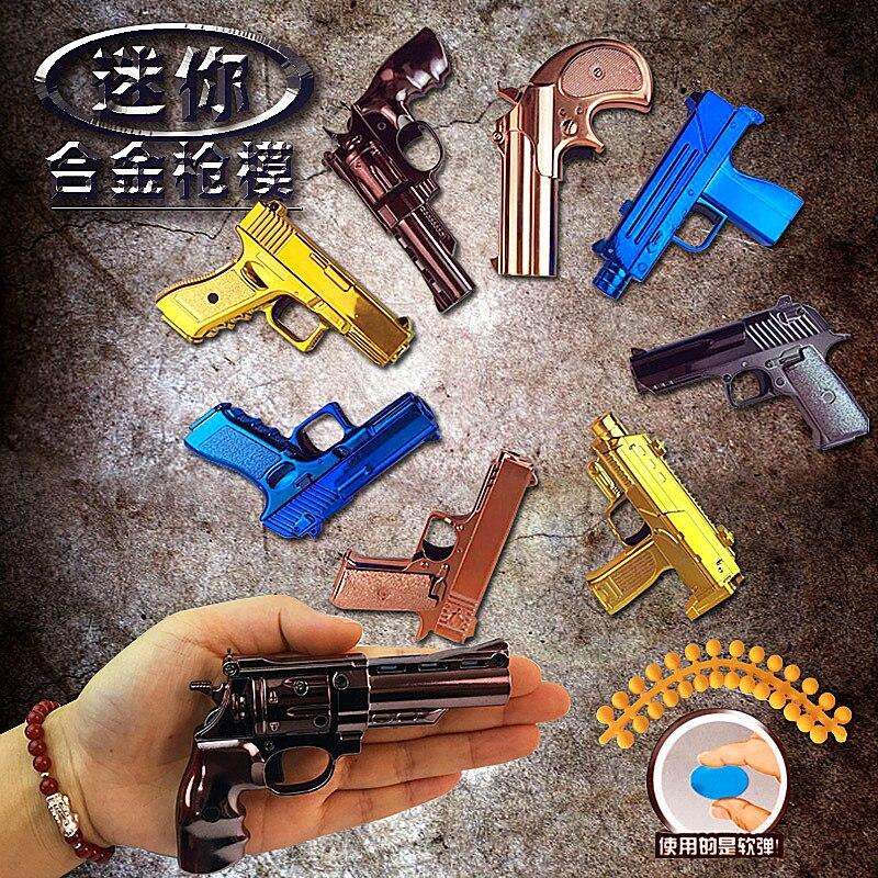 FASHION DOLL SIZE MINIATURE FAKE GUN 1//6 LITTLES 4 INCHES LONG