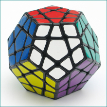 Shengshou Megaminx Magic Cubes Professional Pentagon 12 Sides Gigaminx PVC Sticker Dodecahedron Toy Puzzle Speed Twist