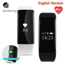 Buy B-DIG Smart Wristband Waterproof Heart Rate Monitor Fitness Tracker Smart Band OLED Screen ip68 gps Android IOS for $20.47 in AliExpress store