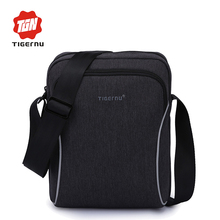 2017 Tigernu brand Casual business men splashproof messenger bag mini ipad bags crossboody bag Shoulder Bags for women(China)