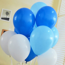 10pcs/lot 10inch Light Blue Latex Balloon Float Air Ball Inflatable Wedding Christmas Birthday Party Decoration Balloon Kid Toys