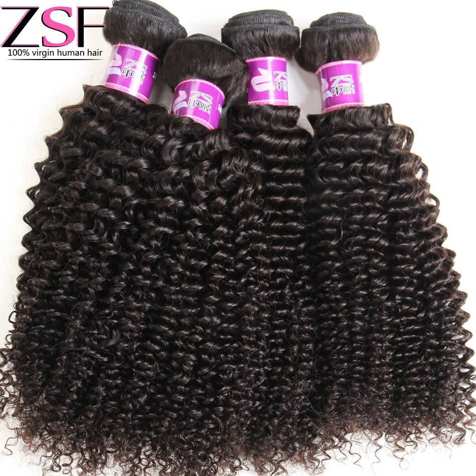 ZSF Hair Company 8A Unprocessed Brazilian Kinky Curly Virgin Hair Afro Kinky Curly Hair Brazilian Virgin Hair Weave Bundles<br><br>Aliexpress