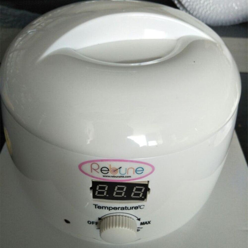Rebune LED Paraffin Heater Wax Warmer Pot 110V/220V 500ml Pro Hair Remover Machine Mini Hair Removal Care Tool<br>