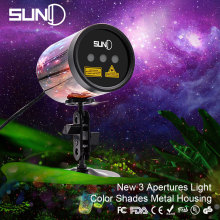 SUNY Outdoor Laser Projector Color Shades Shell Metal Housing Painting Aluminum Alloy Case Waterproof RGR Red Green Garden Xmas(China)