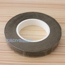 Free shipping Wholesale coffee color paper floriculture tape for nylon stocking flower and butterfly accessories(1pcs/lot)coffee